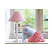 Gingham Lampshade