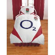England Rugby Rfu O2 Duvet Cover And Pillowcase Bedding