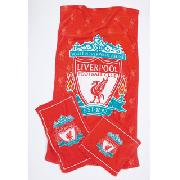 Liverpool Fc 3 Piece Towel Set