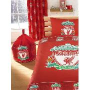 Liverpool Fc Curtains Border Crest