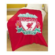 Liverpool Fc Printed Fleece Blanket