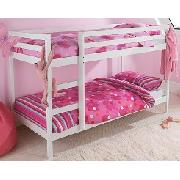 2ft 6In Whitewash Bunk Bed
