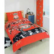 Liverpool Fc Legends Single Duvet Cover Set - Red