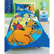 Scooby Doo Cuddle Buddy Duvet Cover Set   Blue