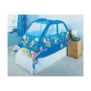 Spongebob Single Bed Tent - Blue  sc 1 st  Cheap Bedroom furniture and Childrens Bedding at Kids Bedroom.biz & Spongebob Squarepants Kids Spongebob Suqarepants Bedroom  Sponge ...