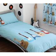 Guitar Single Bedlinen Set