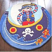 Paz the Pirate Rug