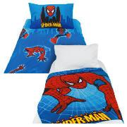 Kids' Spiderman Duvet Set and Fleece Blanket
